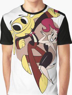 Monkey Rag- Mitzi and Spanko Graphic T-Shirt
