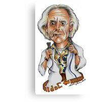 GREAT SCOTT! WE HAVE TO GO BACK AGAIN! Canvas Print