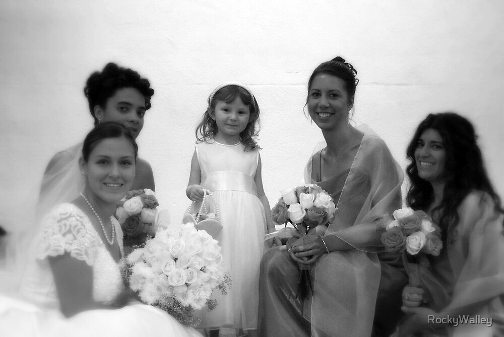 Bride and her girls. by RockyWalley