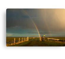 The rainbow Canvas Print