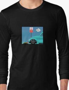 Speed bumps! (light blue) Long Sleeve T-Shirt