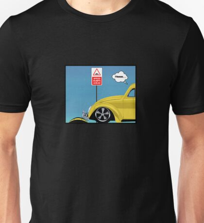 Speed bumps! (yellow) Unisex T-Shirt
