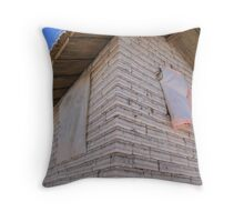 Bolivia - Solar Salt brick shed Throw Pillow