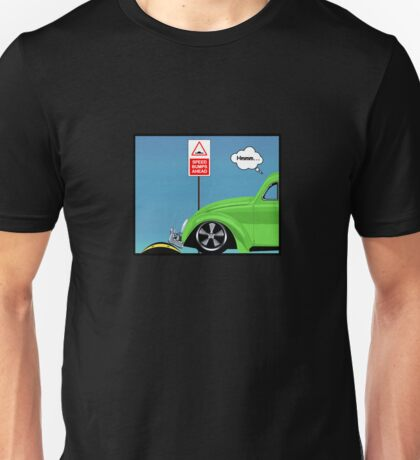 Speed bumps! (green) Unisex T-Shirt