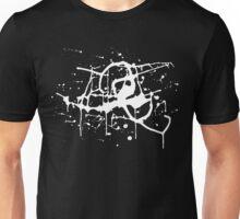 Splat Splat Splat - White Unisex T-Shirt