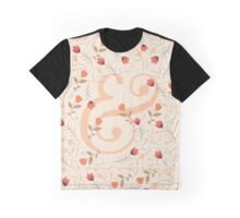 Floral Ampersand Graphic T-Shirt