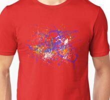 Paint puke splatter of doom! Unisex T-Shirt