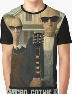 American Gothic Rock T Shirt Graphic T-Shirt