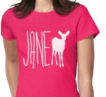 Jane Doe - Deer  Womens Fitted T-Shirt