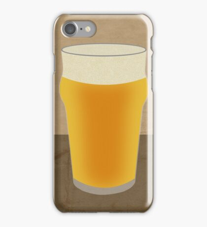 A Pint of Beer iPhone Case/Skin