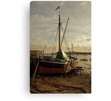 Sailing barge Canvas Print