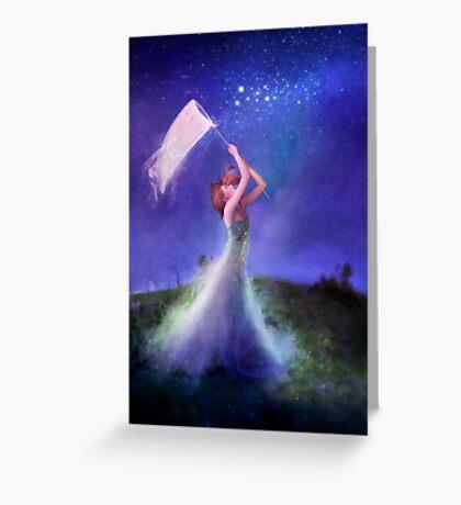Chasing Starlight Greeting Card
