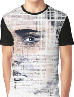 Elvis Presley original  ink painting Graphic T-Shirt