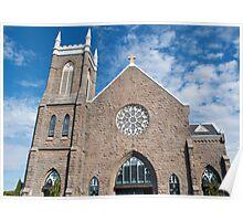 St. Patrick Church of Tacoma, Wa Poster