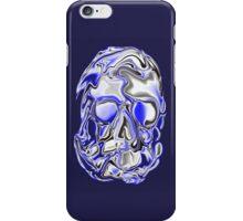 BLUE SKULL  iPhone Case/Skin