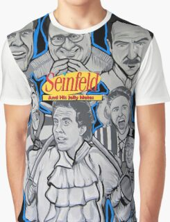 Seinfeld and his jolly mates Graphic T-Shirt