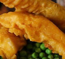 English traditional, Battered Fish  by chaucheong
