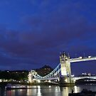 Tower Bridge and Tower of London by chaucheong