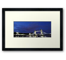 Tower Bridge and Tower of London Framed Print