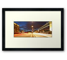 London Bridge at night  Framed Print