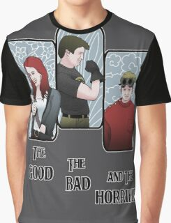 The Good, The Bad, and the Horrible Graphic T-Shirt