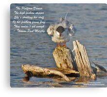 The Platform Dancer Metal Print