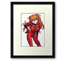 Evangelion Asuka Framed Print