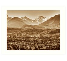 Oso Valley Art Print