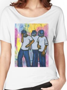 Let's STEP, My Brothas Women's Relaxed Fit T-Shirt