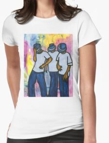 Let's STEP, My Brothas Womens Fitted T-Shirt