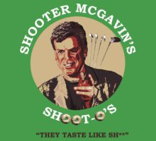 Shooter McGavin's Shoot-os by sciencefluff