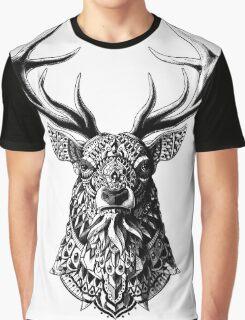 Ornate Buck Graphic T-Shirt
