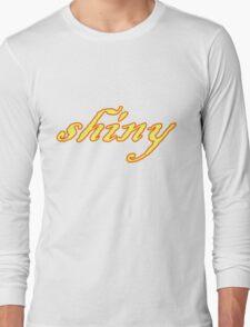 Shiny Long Sleeve T-Shirt