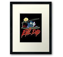 Evil Dad Framed Print