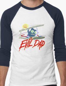 Evil Dad Men's Baseball ¾ T-Shirt