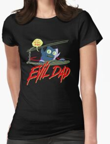 Evil Dad Womens Fitted T-Shirt