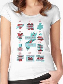 Rules of Zombieland Women's Fitted Scoop T-Shirt