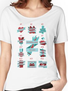 Rules of Zombieland Women's Relaxed Fit T-Shirt