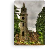 Carriden Old Church Spire Canvas Print