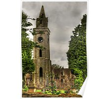 Carriden Old Church Spire Poster