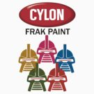 Cylon Frak Paint by mcnasty