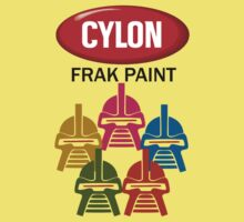 Cylon Frak Paint One Piece - Short Sleeve