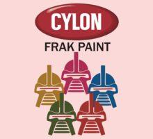Cylon Frak Paint One Piece - Short Sleeve