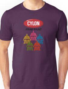 Cylon Frak Paint Unisex T-Shirt
