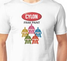 Cylon Frak Paint Unisex T-Shirt