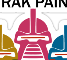 Cylon Frak Paint Sticker