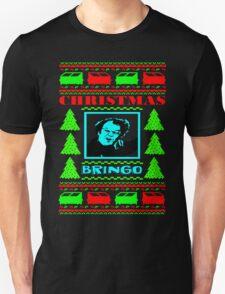Dr. Steve Brule CHRISTMAS BRINGO UGLY SWEATER T-Shirt