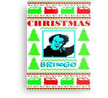 Dr. Steve Brule CHRISTMAS BRINGO UGLY SWEATER Metal Print