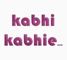 Kabhi Kabhie by sugi007