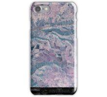USGS Topo Map Washington State WA Cahill Mountain 20110421 TM Inverted iPhone Case/Skin